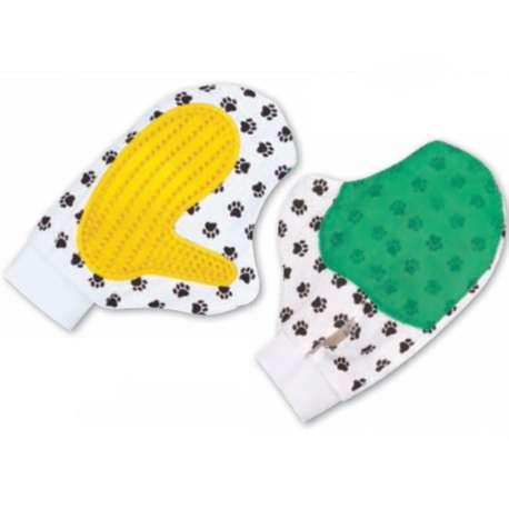 Gant de massage pour chien - Spécial poils courts de marque :