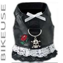 Robe pour chienne harnais Biker de marque : CANISLANA For dogs