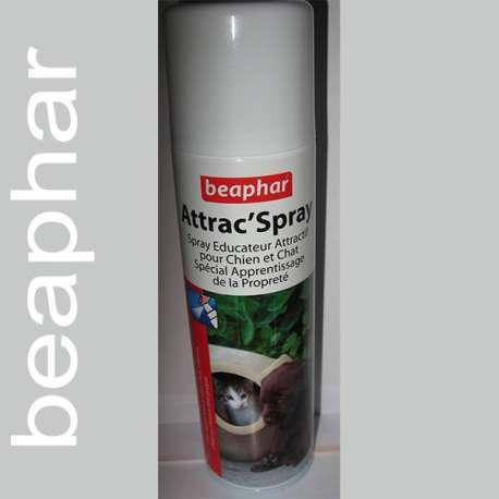 Spray attractif chien et chat - Education de marque : BEAPHAR