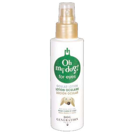 Lotion nettoyer yeux des chiens - Oh my dog