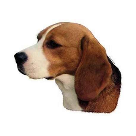 Autocollants Beagle - 7 cm - Lot de 4 de marque :