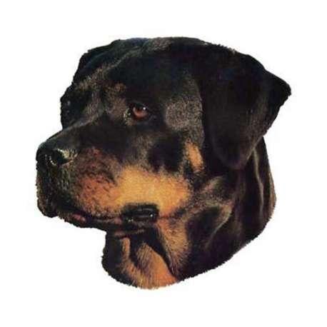 Autocollants Rottweiler - 7 cm - Lot de 4 de marque :