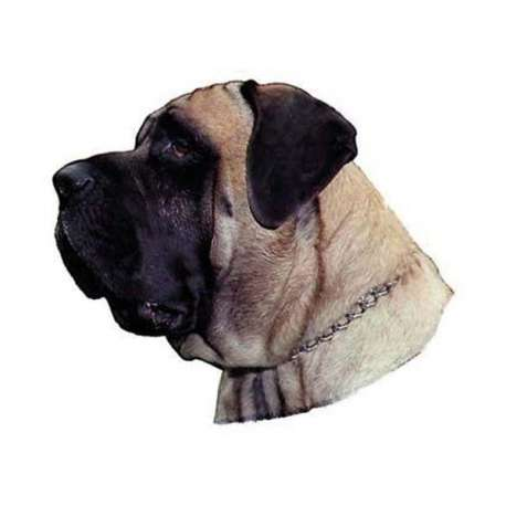 Autocollants Mastiff - 7 cm - Lot de 4 de marque :