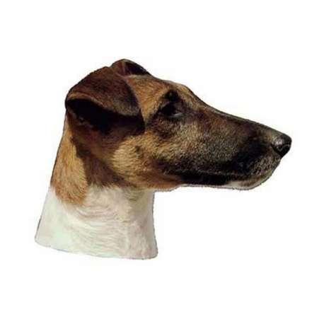 Autocollants Fox Terrier - 7 cm - Lot de 4 de marque :