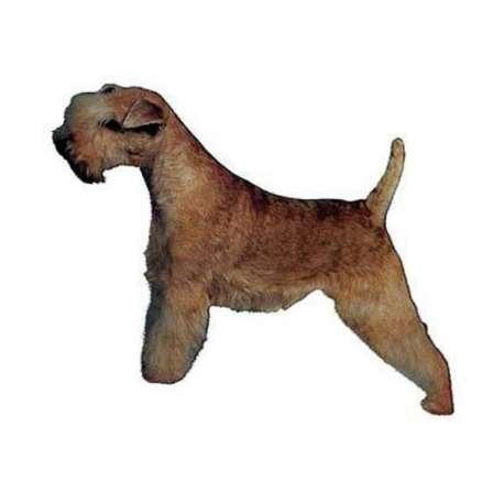 Autocollants Lakeland Terrier - 7 cm - Lot de 4 de marque :