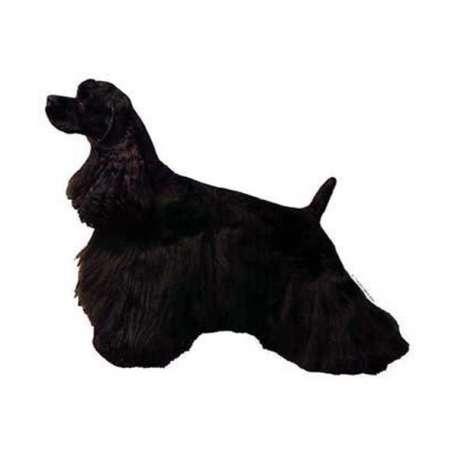 Autocollants Cocker américain noir - 7 cm - Lot de 4 de marque :
