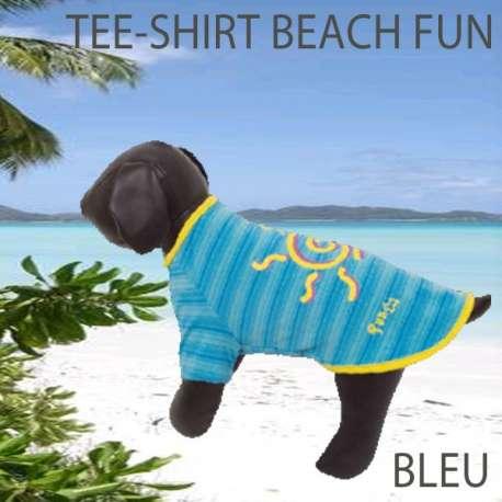 Destockage Tee-Shirt pour chiens Beach Fun de marque : DOOGY