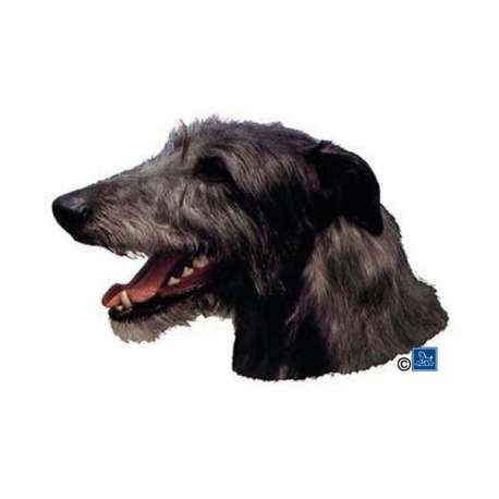 Autocollants Lévrier d'Ecosse Deerhound - 7 cm - Lot de 4 de marque :