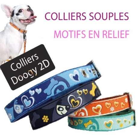 Destockage Collier pour chiens Doogy 2D Coeur de marque : DOOGY