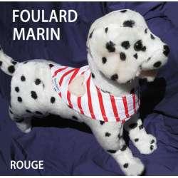 Destockage Foulard pour chiens marin rouge de marque : CANISLANA For dogs
