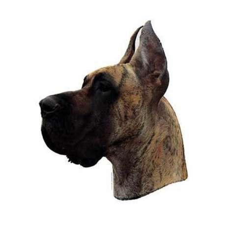 Autocollants Dogue Allemand bringe - 14 cm - Lot de 2 de marque :