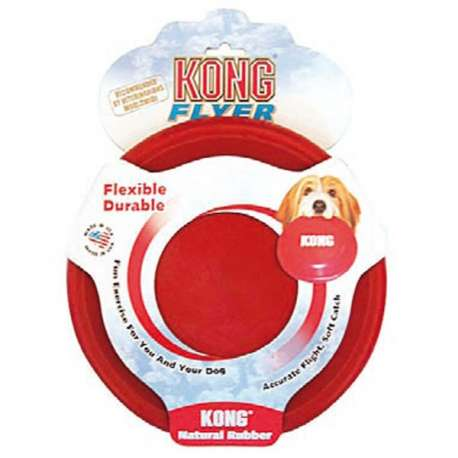 KONG FLYER - FRISBEE pour CHIENS