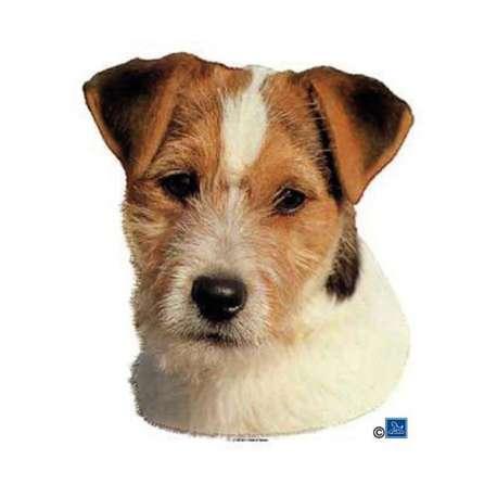 Autocollants Jack Russel Terrier - 14 cm - Lot de 2 de marque :
