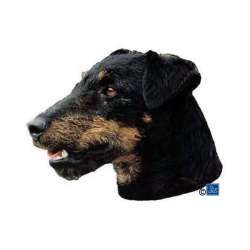 Autocollants Terrier de chasse allemand - 14 cm - Lot de 2