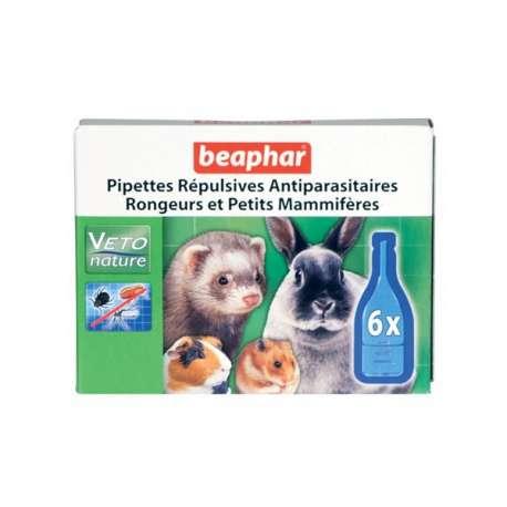 Pipettes insectifuges pour rongeurs de marque : BEAPHAR