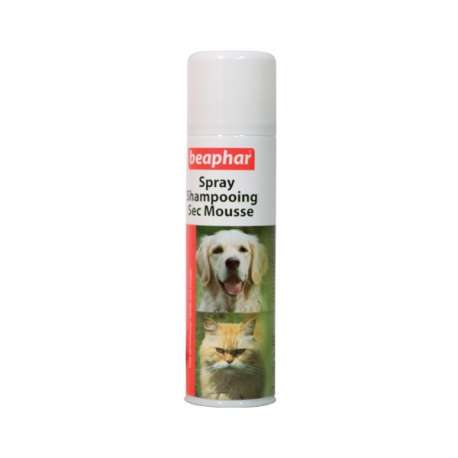 Spray-Shampooing sec Beaphar de marque : BEAPHAR
