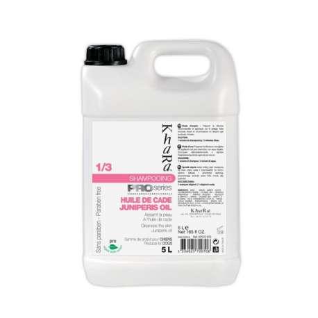 Shampooing Khara à l'huile de cade - 5L de marque : KHARA