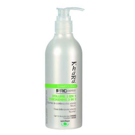 Shampooing volume soie 3 en 1 Khara - 250 ml de marque : KHARA