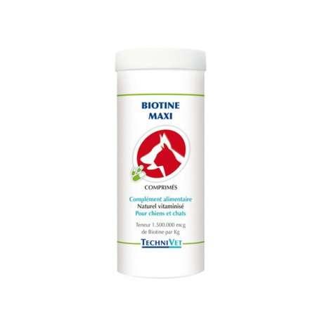 Complément alimentaire Technivet Biotine Maxi - 200 g de marque : TECHNIVET