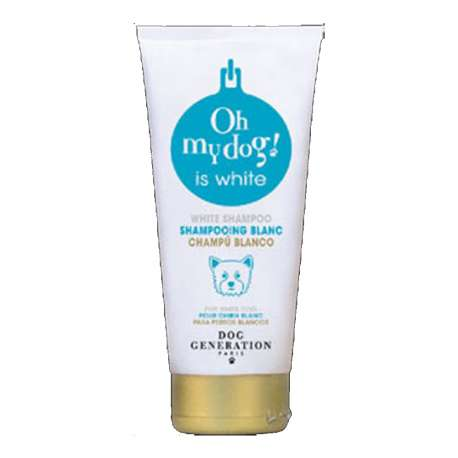 Shampooing pour chien blanc - 200ml - Oh my dog