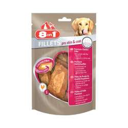 Friandises fillets pelage brillant