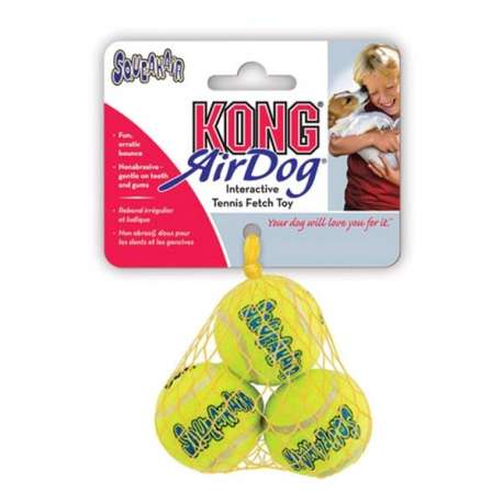 KONG SQUEAKAIR MINI TENNIS BALL - SONORE