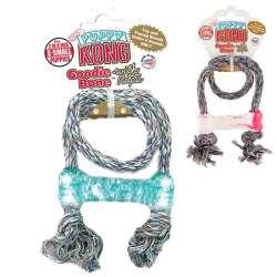 Jouet Kong Goodie Bone avec corde pour chiot de marque : KONG