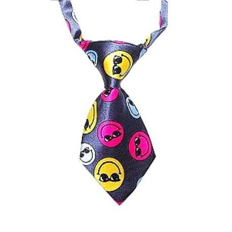 Cravate pour chien - Smiley de marque :