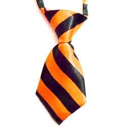 Cravate pour chien - Orange de marque :