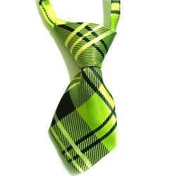 Cravate pour chien - Ecosse verte de marque :