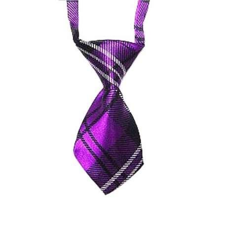 Cravate pour chien - Ecosse fushia de marque :