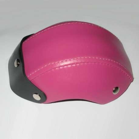 Casque de moto pour chien - Casque rose