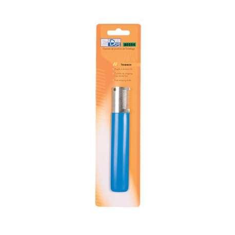 Trimmer IdealDog Droitier Moyen 14 Dents Bleu de marque :