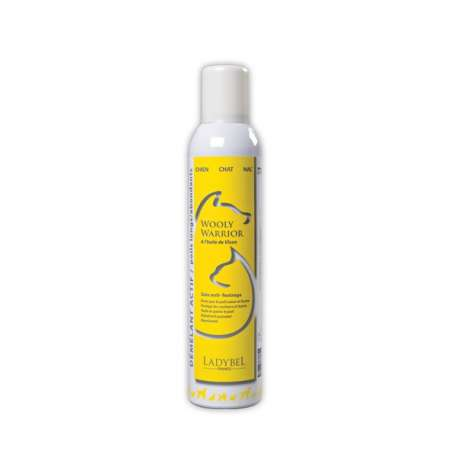 Démêlant chien Wooly Warrior Ladybel - 300 ml