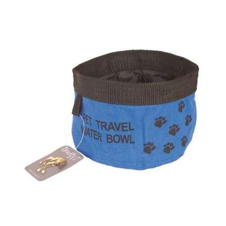 Gamelle voyage pour chien - Gamelle souple 1L de marque :