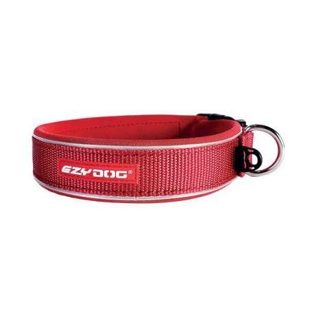 Collier Ezydog Neo Classic rouge de marque : EZYDOG