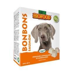 Bonbons Biofood aux saumon de marque : Biofood