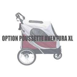 Housse de protection pluie pour poussette Aventura XL