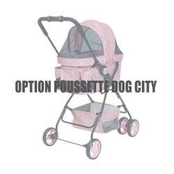 Housse de protection pluie pour poussette Dog City