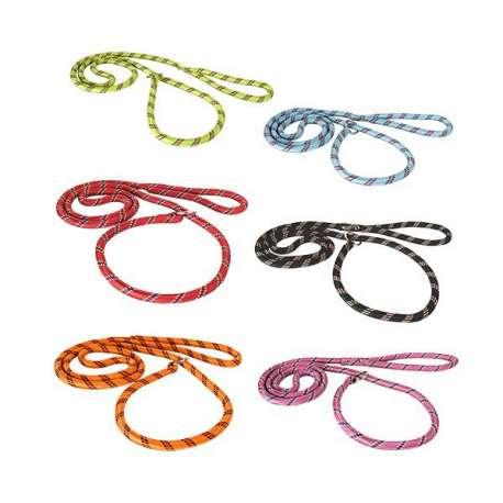 Laisse lasso nylon corde jacquard canislana - Laisse corde gros chien ...