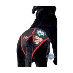 Slip hygiénique noir pour chienne