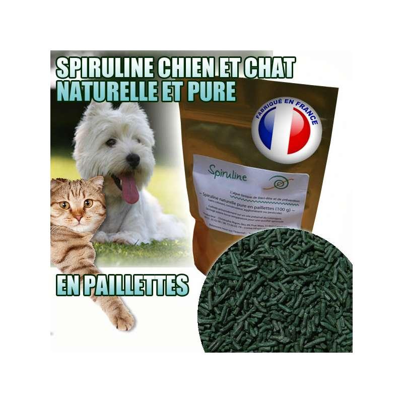 Spiruline pour chien ou chat naturelle et pure - Chat ou chien ...