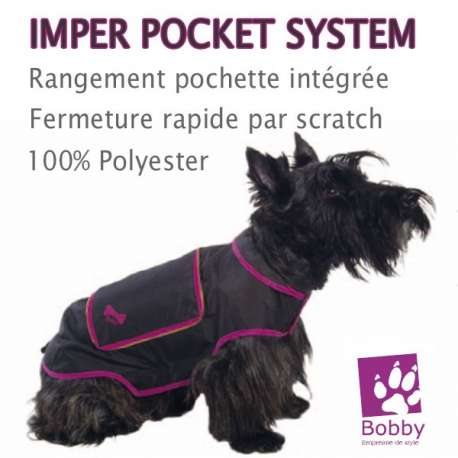 "Destockage Impermeable pour chien Bobby ""Pocket System"" Taille 36 de marque : BOBBY"