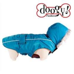 Doudoune bleue spécial Bouledogue - Softy Doogy de marque : DOOGY