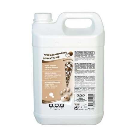 Après-shampooing Lissant Coco Dog Generation - 5L de marque : DOG GENERATION