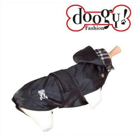 Impermeable pour chien Tonga noir