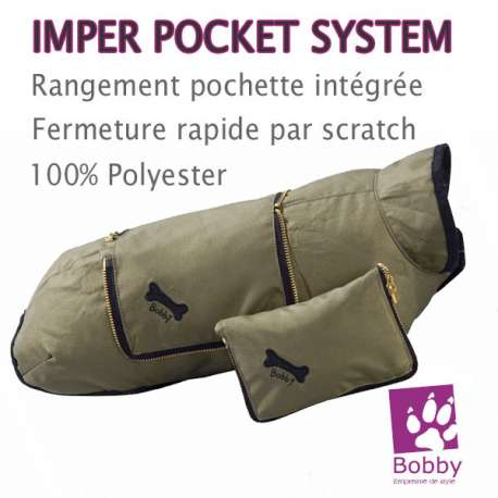 """Impermeable pour chien Bobby """"Pocket System"""""""