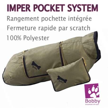 "Impermeable pour chien Bobby ""Pocket System"" de marque : BOBBY"