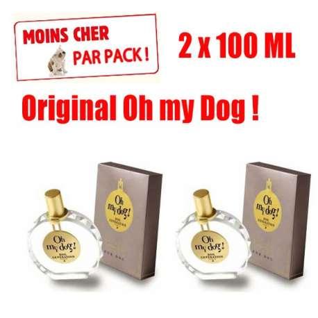 Lot de 2 parfums Oh my dog 100ML