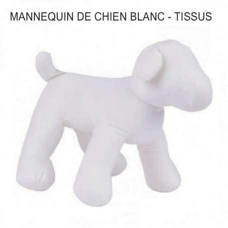 Mannequin de chien en tissus